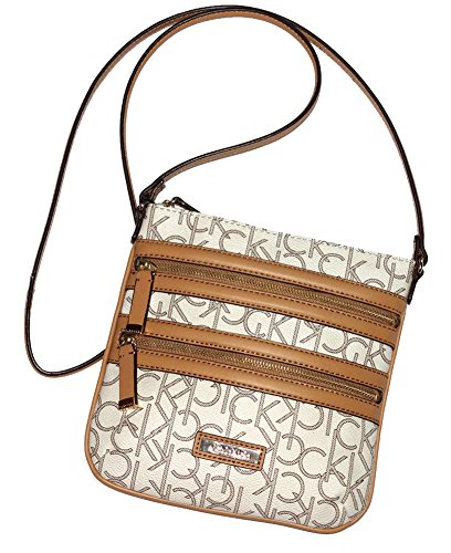 Calvin Klein Designer Handbag CK Monogram Cross Body Bag