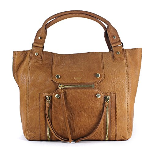 Botkier Logan Tote Nutmeg Brown Leather Shoulder Bag Purse