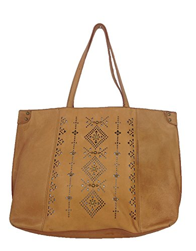 Lucky Brand Newport Leather Tote Bag, Cognac