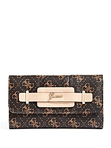GUESS Women's Greyson 4-G Logo Slim Clutch