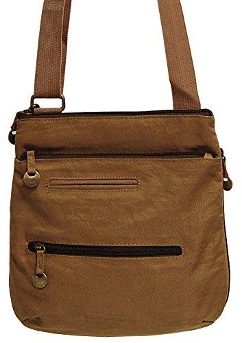 Travelon City Cross Body Bag – Tan
