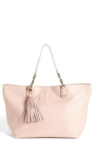 Tory Burch Thea Large Tote in Porcelain Pink