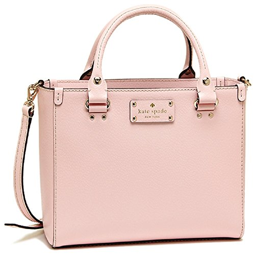 Kate Spade Small Quinn Wellesley Leather Hand Bag, Pink