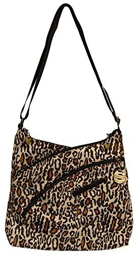Travelon Criss Cross Organizer Bag – Leopard