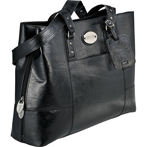 "Kenneth Cole® ""Tripled The Size"" 15.4″ Compu-Tote – Black"