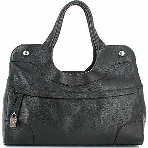 Furla Piper Saffiano Leather Large East/west Shopper, Onyx