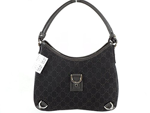 Gucci Abbey D Ring Ziptop Large GG Signature Hobo