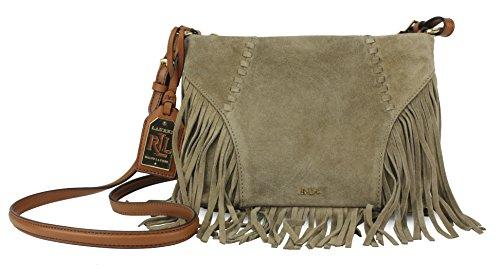 Lauren Ralph Lauren Faulk Suede Crossbody Bag, Desert