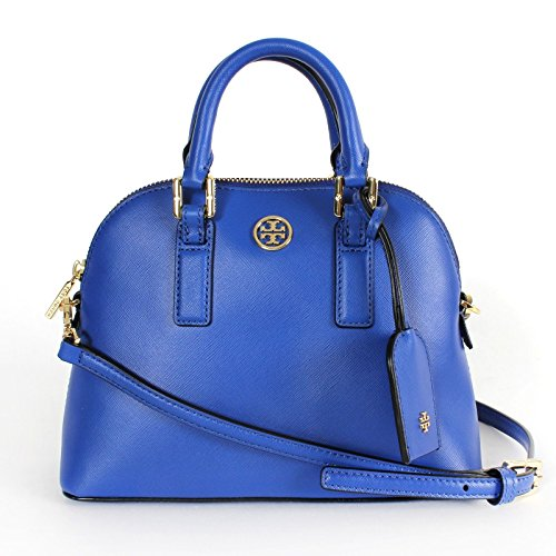Tory Burch Robinson Mini Dome Satchel Jelly Blue