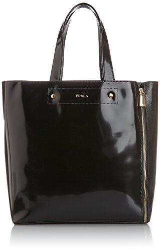 Furla Musa M Tote C/Zip, Onyx, One Size