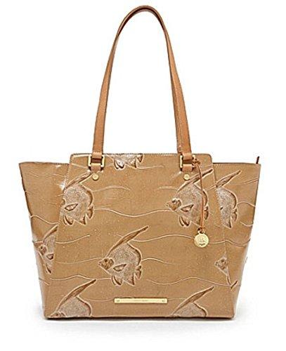 Brahmin Tori Tote Bag,Natural Leather