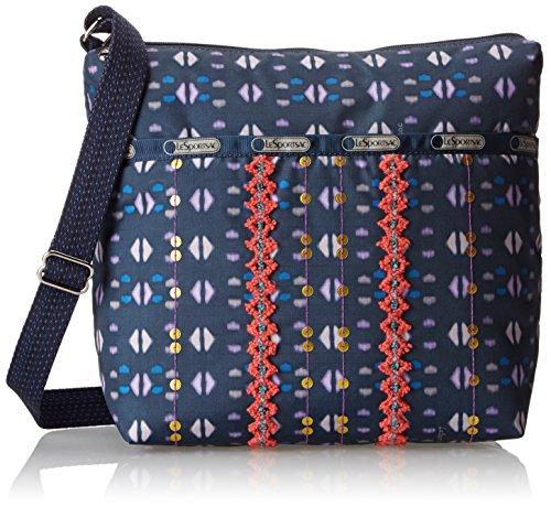 LeSportsac Small Cleo Cross-Body Handbag,Far and Away SM Cleo,One Size
