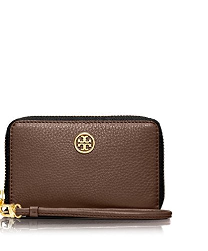 Tory Burch Robinson Pebbled Smartphone Wristlet