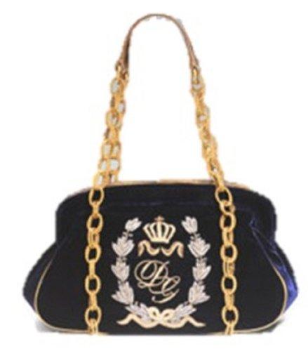 Dolce and Gabbana Velvet Napolean Frame Bag