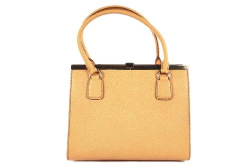 DOLCE&GABBANA women's leather shoulder bag original hobo orangene