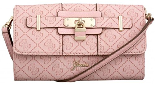 GUESS La Vida Logo Mini Crossbody Bag, Light Rose