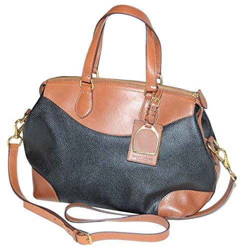 Ralph Lauren Women Two Tone Satchel Handbag