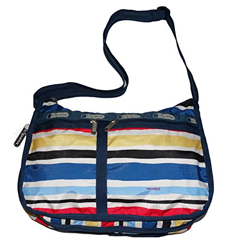 LeSportsac Women's Delux Everyday Bag No Pouch, Cabana Stripe, One Size