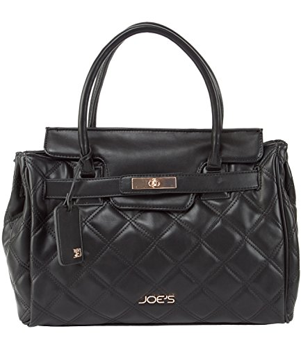 Joe's Jeans Posh Flap Quilted Tote Handbag