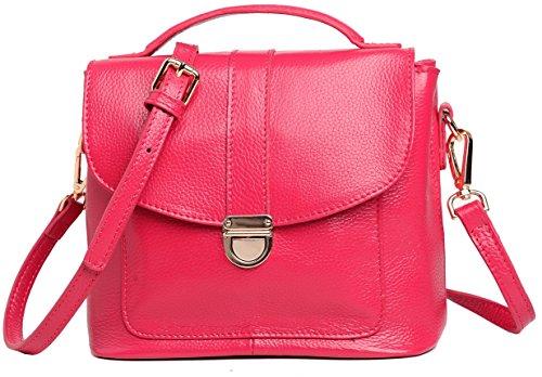 Heshe Fashion Euramerica Soft Genuine Leather Cross Body Shoulder Bag Handbag for Women