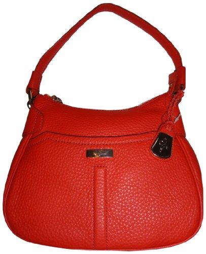 Women's Cole Haan Purse Handbag Kim Hobo Small Village Unit Spicy Orange