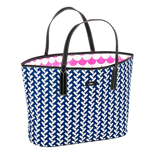 SCOUT Club Upper Open-Top Tote Bag, Vine Cooler, 12 by 20 by 5-1/2 Inches