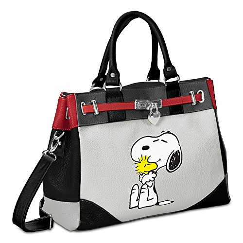 PEANUTS Happiness Is Friendship Snoopy Woodstock Handbag – The Bradford Exchange