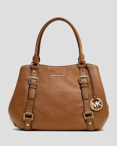 Michael Kors Bedford Large Brown/Luggage Satchel