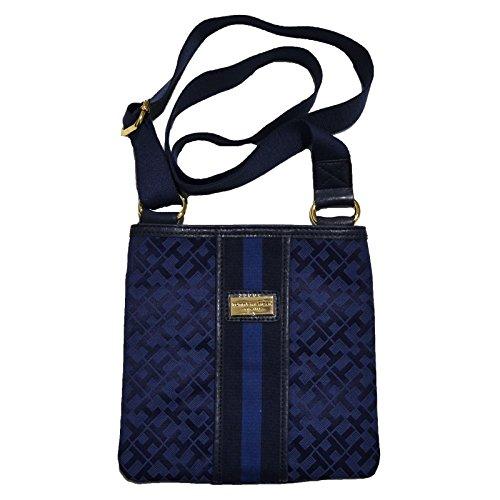 Tommy Hilfiger Small Xbody Crossbody Handbag Navy Blue Multi