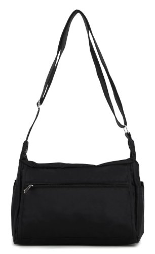 Scarleton Square Nylon Shoulder Bag H1499