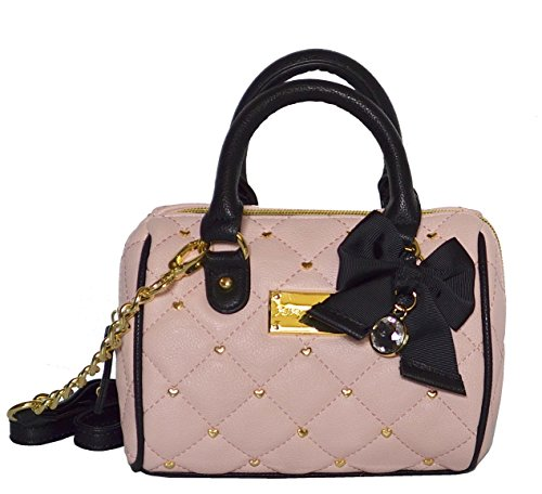 Betsey Johnson Houdini Mini Speedy XBody Crossbody Bag Handbag