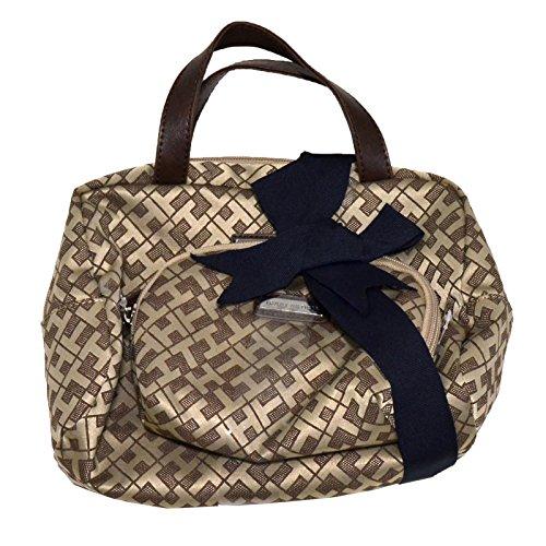Tommy Hilfiger 2 Piece Cosmetic Kit Zip Around Ecru