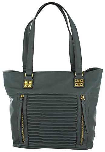 Jessica Simpson Samantha Women's Vegan Leather Tote Handbag Bag