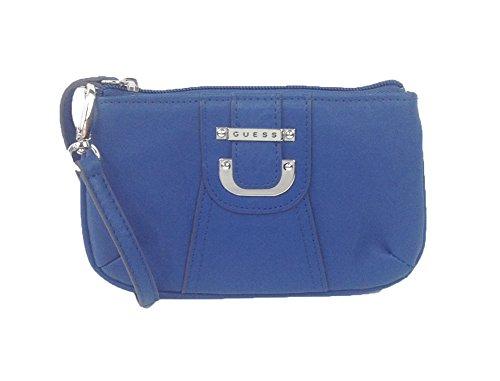 GUESS 'Donna' Top Zip Wristlet, Lapis Blue