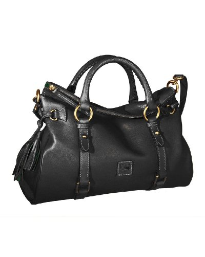 Dooney & Bourke Florentine Vachetta Satchel Satchel Black/Black Trim