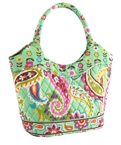 Vera Bradley Petite Daisy Handbag in Tutti Frutti