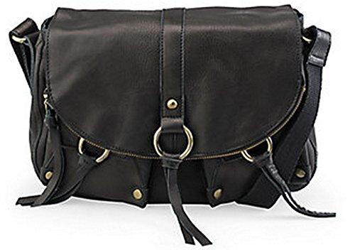 Lucky Brand Maravista Stash Flap Leather Black