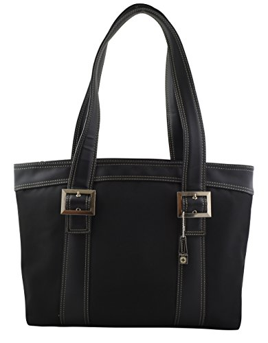 """SwissGear """"Diana"""" Women's Business Tote Bag With Padded Compartment For Computer Up To 15.4″ – Black"""