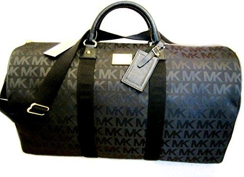 Michael Kors Duffle Luggage Bag Carry On Travel Black