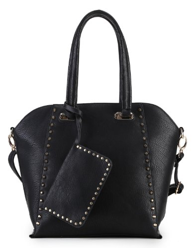 Scarleton Side Studded Shoulder Bag H1511