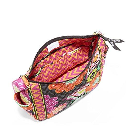 Vera Bradley On the Go Shoulder Hobo Style Handbag in Ziggy Zinnia