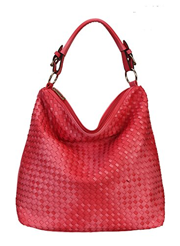 Diophy Fashion Woven Hobo Hand Bag