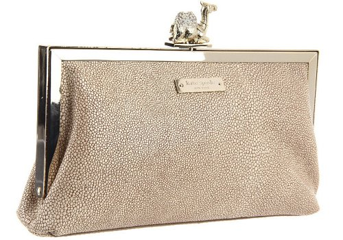 Kate Spade New York Queen of the Nile Queen Clutch, Chino