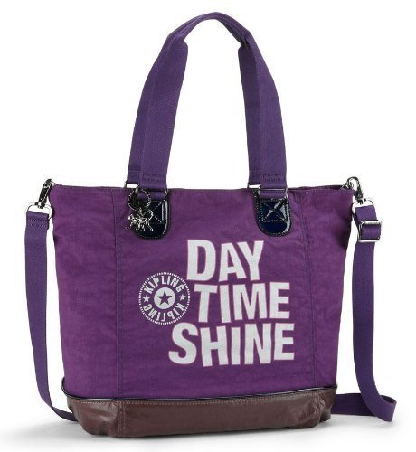 Womens Kipling Shopper Combo Handbag Purple X