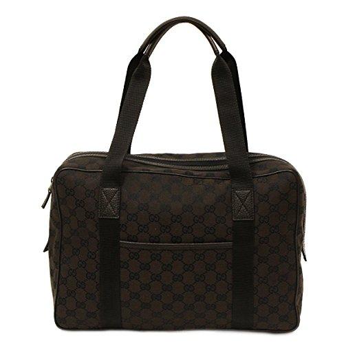 Gucci Gg Guccissima Brown Canvas Unisex Business Tote Bag 282529