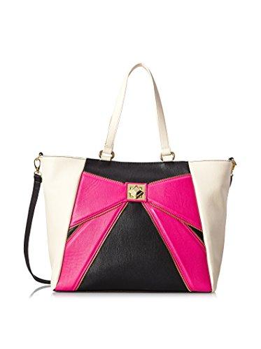 Betsey Johnson Bow Zip BJ33120 Shoulder Bag, Pink