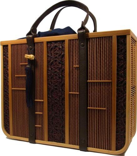 Shizuoka Bamboo Crafts Cooperative – Bamboo Handbag Ryo (Cool Men) – Made in Japan