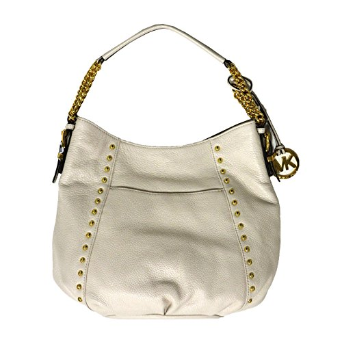 Michael Kors Middleton Purse MD Shoulder Handbag in Vanilla