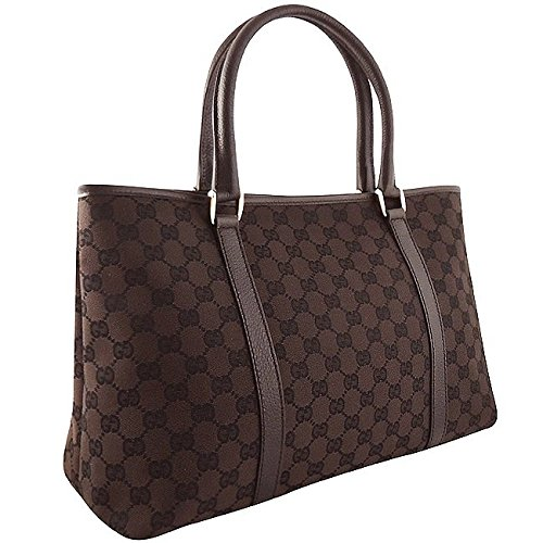 Gucci Dark Brown Tote Gucci 257302 FFPRG Handbag