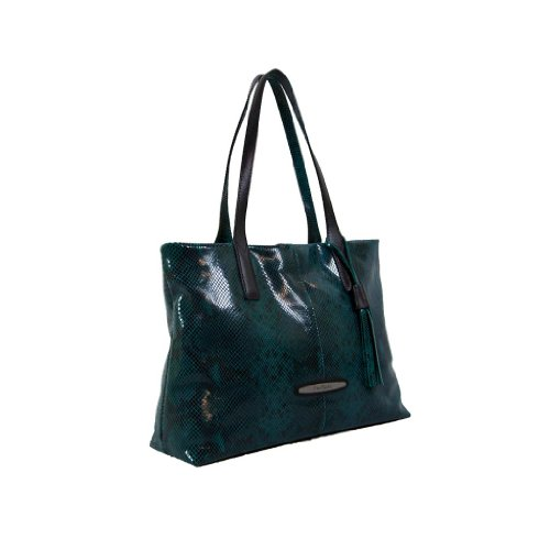 Pierre Cardin PC 1381 P.SMERALDO Made in Italy Emerald Green Tote/Shoulder Bag